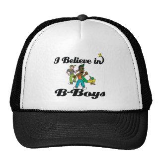 creo en B-muchachos Gorras De Camionero