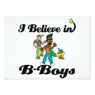 creo en B-muchachos Anuncio Personalizado