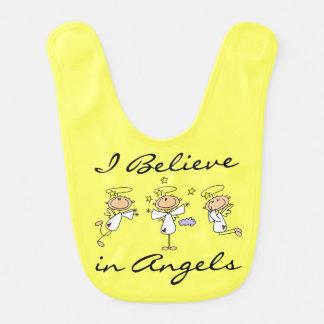 Creo en babero de los ángeles