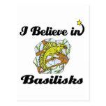 creo en basiliscos postal