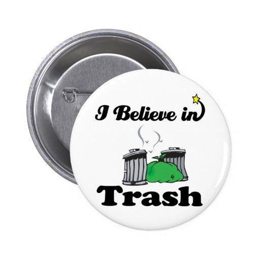 creo en basura pins