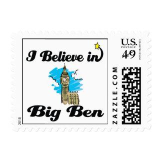 creo en ben grande sello