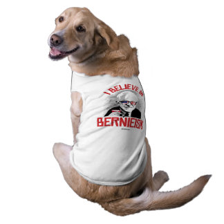 Creo en Bernieism Playera Sin Mangas Para Perro