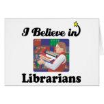 creo en bibliotecarios felicitaciones