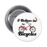 creo en bicicletas pin