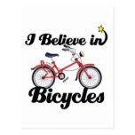 creo en bicicletas postal