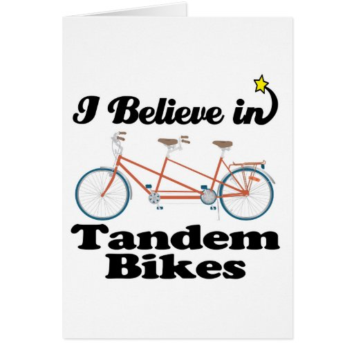 creo en bicis en tándem tarjeton