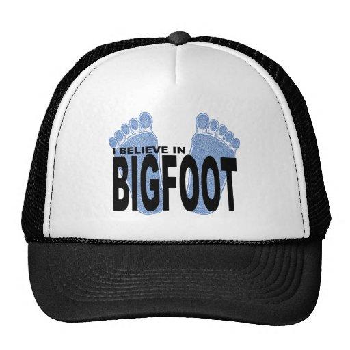 Creo en Bigfoot Gorra