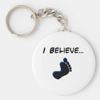 Creo en Bigfoot Llaveros
