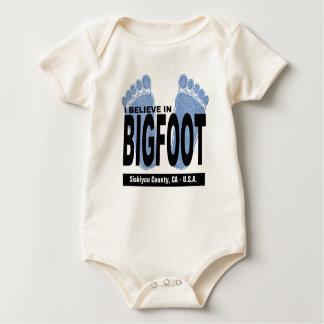Creo en Bigfoot Mameluco