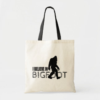 Creo en Bigfoot Sasquatch divertido Bolsa De Mano