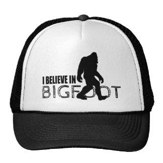 Creo en Bigfoot Sasquatch divertido Gorro