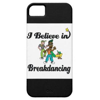 creo en breakdancing funda para iPhone SE/5/5s