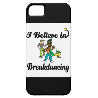 creo en breakdancing iPhone 5 carcasa