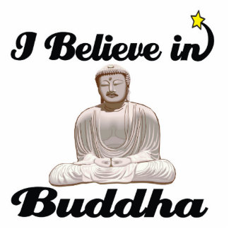 creo en Buda Fotoescultura Vertical