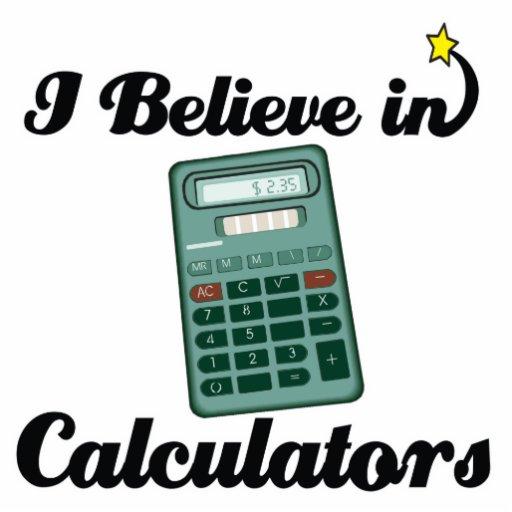 creo en calculadoras esculturas fotograficas