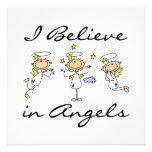 Creo en camisetas y regalos de los ángeles comunicados personales