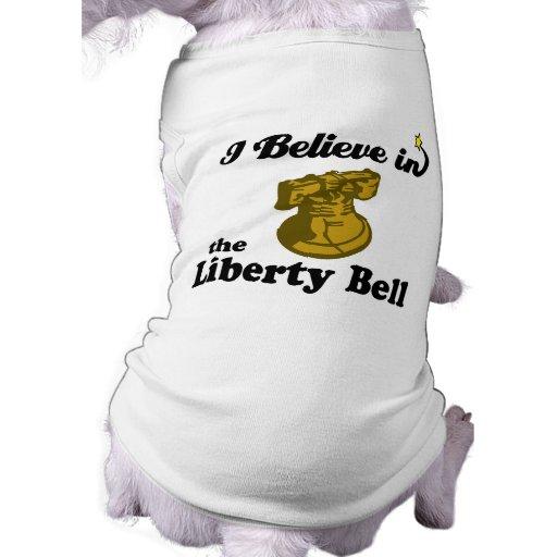 creo en campana de libertad prenda mascota