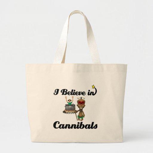creo en caníbales bolsas