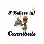 creo en caníbales postal