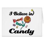 creo en caramelo felicitación