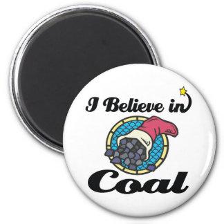creo en carbón imán redondo 5 cm