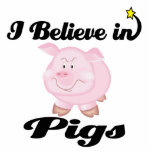creo en cerdos esculturas fotográficas