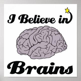 creo en cerebros impresiones