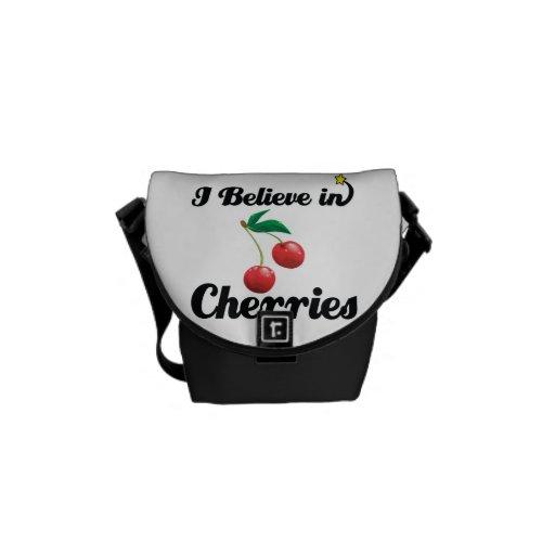 creo en cerezas bolsas de mensajeria