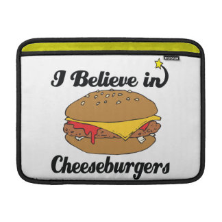creo en cheeseburgers fundas para macbook air