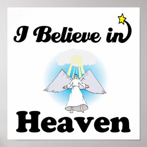 creo en cielo póster