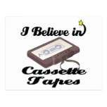 creo en cintas de casete postal