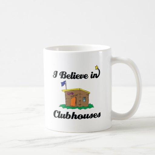 creo en clubs taza