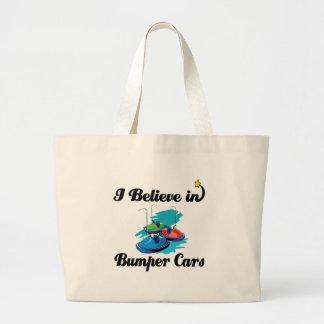creo en coches de parachoques bolsa tela grande