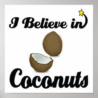 creo en cocos póster