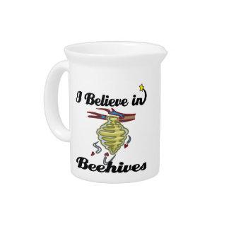 creo en colmenas jarrones