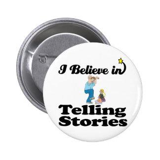 creo en contar historias pins