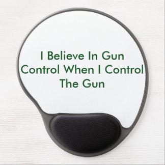 Creo en control de armas cuando controlo el arma alfombrillas de raton con gel