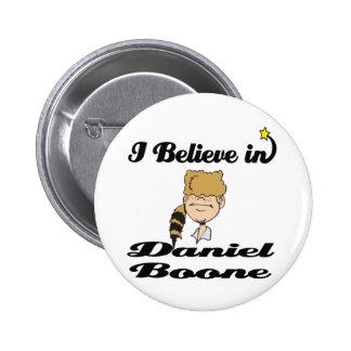 creo en Daniel Boone Pin