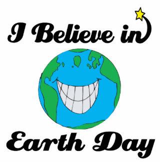 creo en Día de la Tierra Fotoescultura Vertical