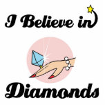 creo en diamantes escultura fotográfica
