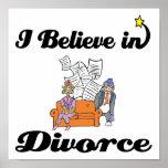 creo en divorcio impresiones