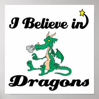 creo en dragones posters