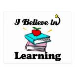 creo en el aprendizaje