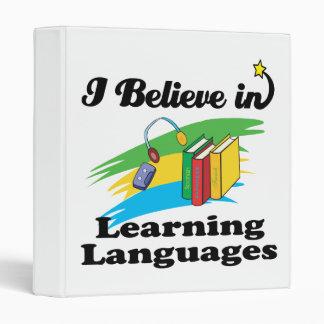 """creo en el aprendizaje de idiomas carpeta 1"""""""
