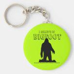 Creo en el llavero de Bigfoot