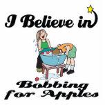 creo en el meneo para las manzanas escultura fotográfica