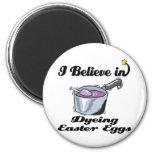 creo en el teñido de los huevos de Pascua Iman Para Frigorífico