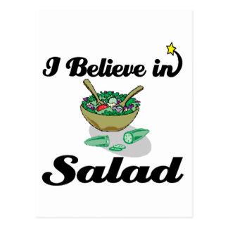 creo en ensalada postal