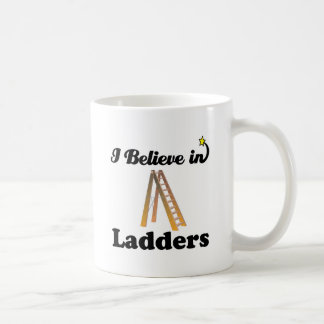 creo en escaleras taza de café